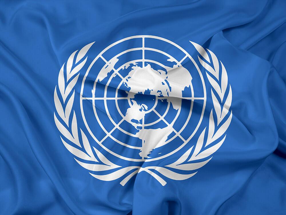 United nations and humanitarian organization supply